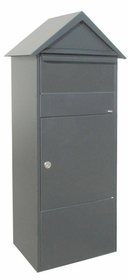 Allux 810 Parcel Box in Grey