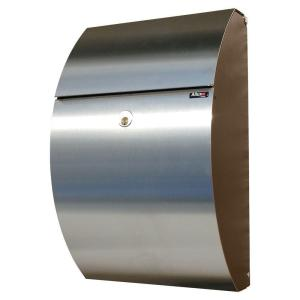 Allux Series Mailboxes Allux 7000 in Black/Stainless color