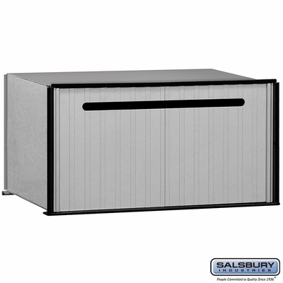 Salsbury 2280 Aluminum Drop Box 1 Compartment