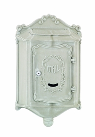 Amco Colonial Wallmount Mailbox in Khaki