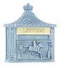 Amco Victorian Wallmount Mailbox in Stone