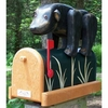 ANIMALS - Bear (Black Bear) Woodendippity Mailbox