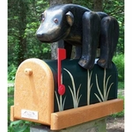 Handcrafted Wooden Mailboxes
