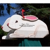 ANIMALS - Hare Woodendippity Mailbox