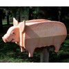 ANIMALS - Pig Woodendippity Mailbox