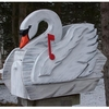 ANIMALS - Swan Woodendippity Mailbox