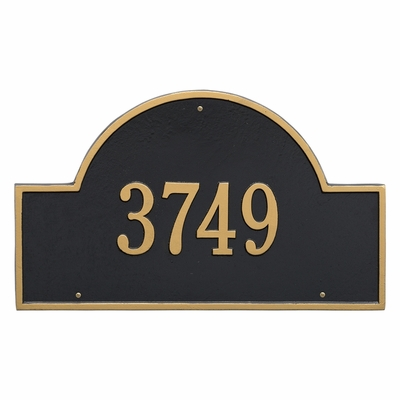 Arch Marker Estate One Line Wall Plaque