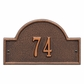 Arch Marker Petite One Line Wall Plaque