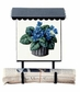 Bacova Gardens 10091 Violet Basket Vertical Wall Mounted Mailbox