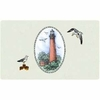 Bacova Gardens 10366 Currituck Beach Lighthouse Residential Post Mount Mailbox