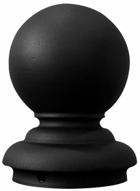 Ball Topper-Fits 4 inch O/D Pole