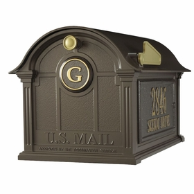whitehall balmoral mailbox only - Decorative Mailboxes