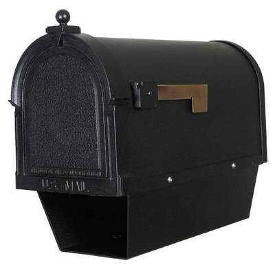 Berkshire Curbside Mailbox with NewsPaper Tube