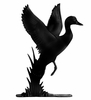 Whitehall Black Duck Mailbox Ornament