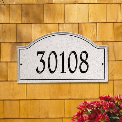 Whitehall Boca Raton Standard One Line Wall Plaque (without emblem)