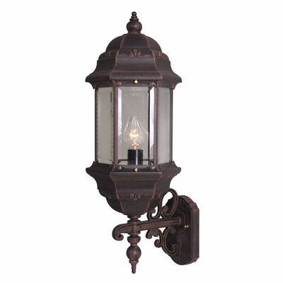 Boulevard Large Bottom Mount Wall Bracket Lighting Fixture