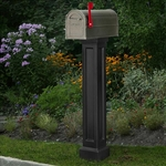 Bradford Mailbox Package in Black