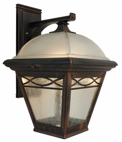 Brentwood Top Mount Open Bottom Medium Lighting Fixture