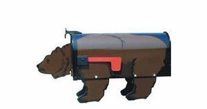 Brown Bear Novelty Mailbox