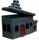 BUILDINGS - Cartoon House Mailbox