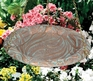 Whitehall Butterfly Hanging Birdbath - Copper Verdi
