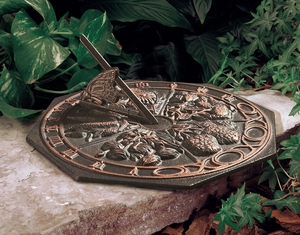 Whitehall Butterfly Sundial - Oil Rub Bronze
