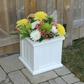Cape Cod 14 x 14 Patio Planter - White