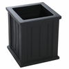 Cape Cod 16 x 16 Patio Planter - Black