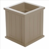 Cape Cod 16 x 16 Patio Planter - Clay