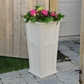 Cape Cod Tall Patio Planter 16 x 32 - Clay