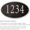 Salsbury 1332BSS Cast Aluminum Address Plaque