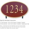 Salsbury 1332MGL Cast Aluminum Address Plaque