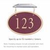 Salsbury 1335MGH Cast Aluminum Address Plaque