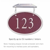 Salsbury 1335MSH Cast Aluminum Address Plaque