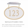 Salsbury 1335WGH Cast Aluminum Address Plaque