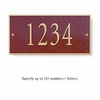 Salsbury 1310MGS Cast Aluminum Address Plaque