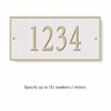 Salsbury 1310WGS Cast Aluminum Address Plaque