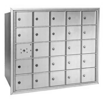 Centurian 2600 Series Horizontal Cluster Mailboxes - 24 Tenant Doors And 1 USPS Master Door