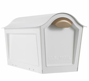 Whitehall Chalet Mailbox Only - White