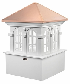 "Chesapeake Vinyl Cupola - 26"" Sq. X 37"" High"