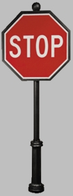 Classic Series #3 Stop Sign