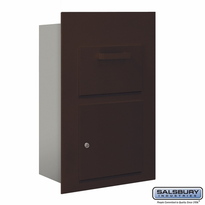Salsbury 3600C5-ZFP Collection Unit-For 5 Door High 4B+ Mailbox