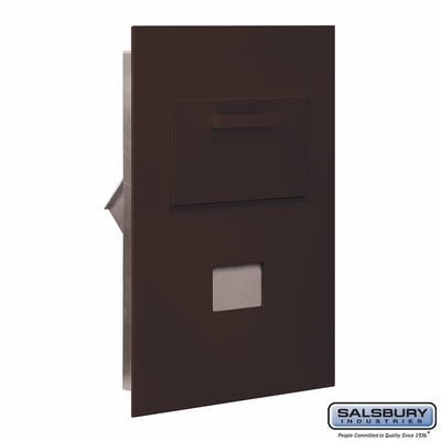 Salsbury 3600C5-ZRU Collection Unit For 5 Door High 4B+ Mailbox