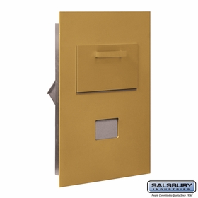 Salsbury 3600C5-GRU Collection Unit For 5 Door High 4B+ Mailbox