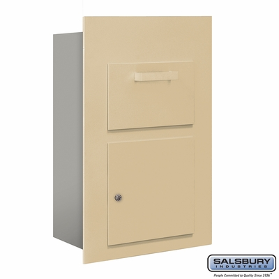 Salsbury 3600C5-SFP Collection Unit For 5 Door High 4B+ Mailbox