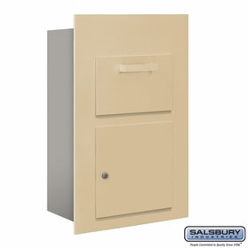 Salsbury 3600C5-SFU Collection Unit For 5 Door High 4B+ Mailbox