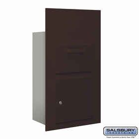 Salsbury 3600C6-ZFP Collection Unit-For 6 Door High 4B+ Mailbox