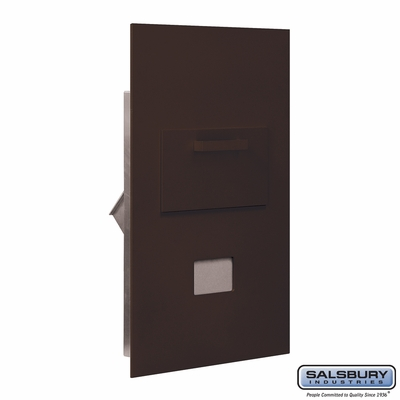 Salsbury 3600C6-ZRP Collection Unit For 6 Door High 4B+ Mailbox