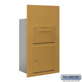 Salsbury 3600C6-GFU Collection Unit For 6 Door High 4B+ Mailbox