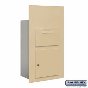Salsbury 3600C6-SFU Collection Unit For 6 Door High 4B+ Mailbox